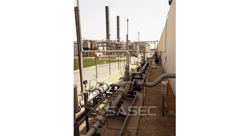 Natural Gas Fuel Piping System for Industrial Factories – SASEC